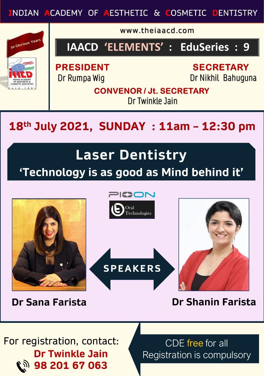 Conference on laser dentistry